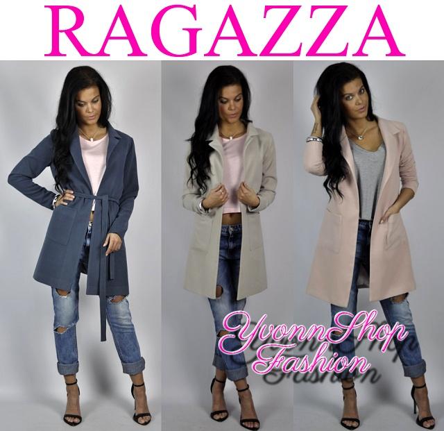 V ponuke luxusné jarné kabáty ragazza 0e8219a8497