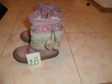 Čižmy č.28, čižmičky so zapínaním na zips, bobbi shoes,28