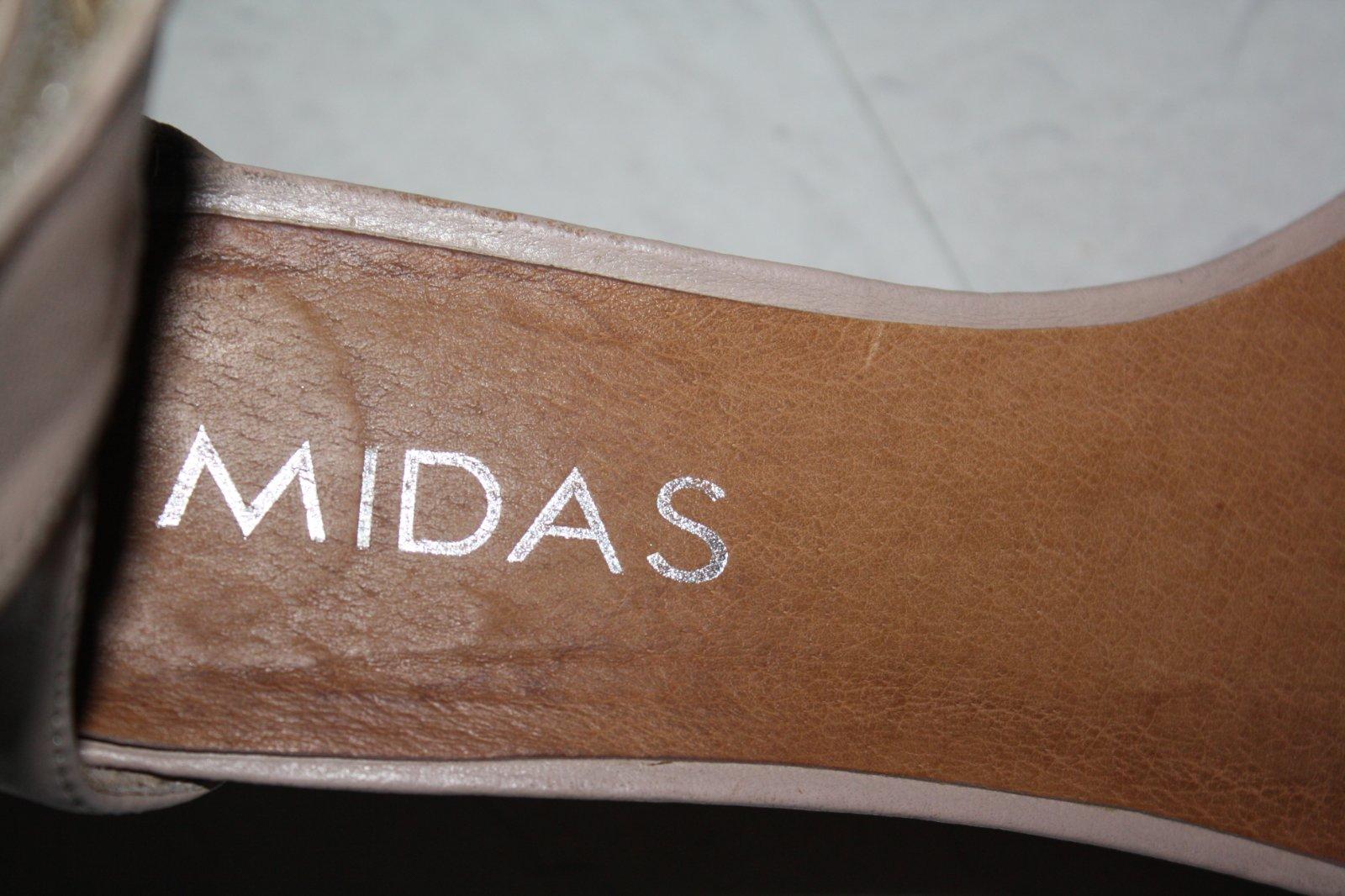 762e833c1030 Zobraz celé podmienky. Midas - pudrovo ruzove kozene sandale ...