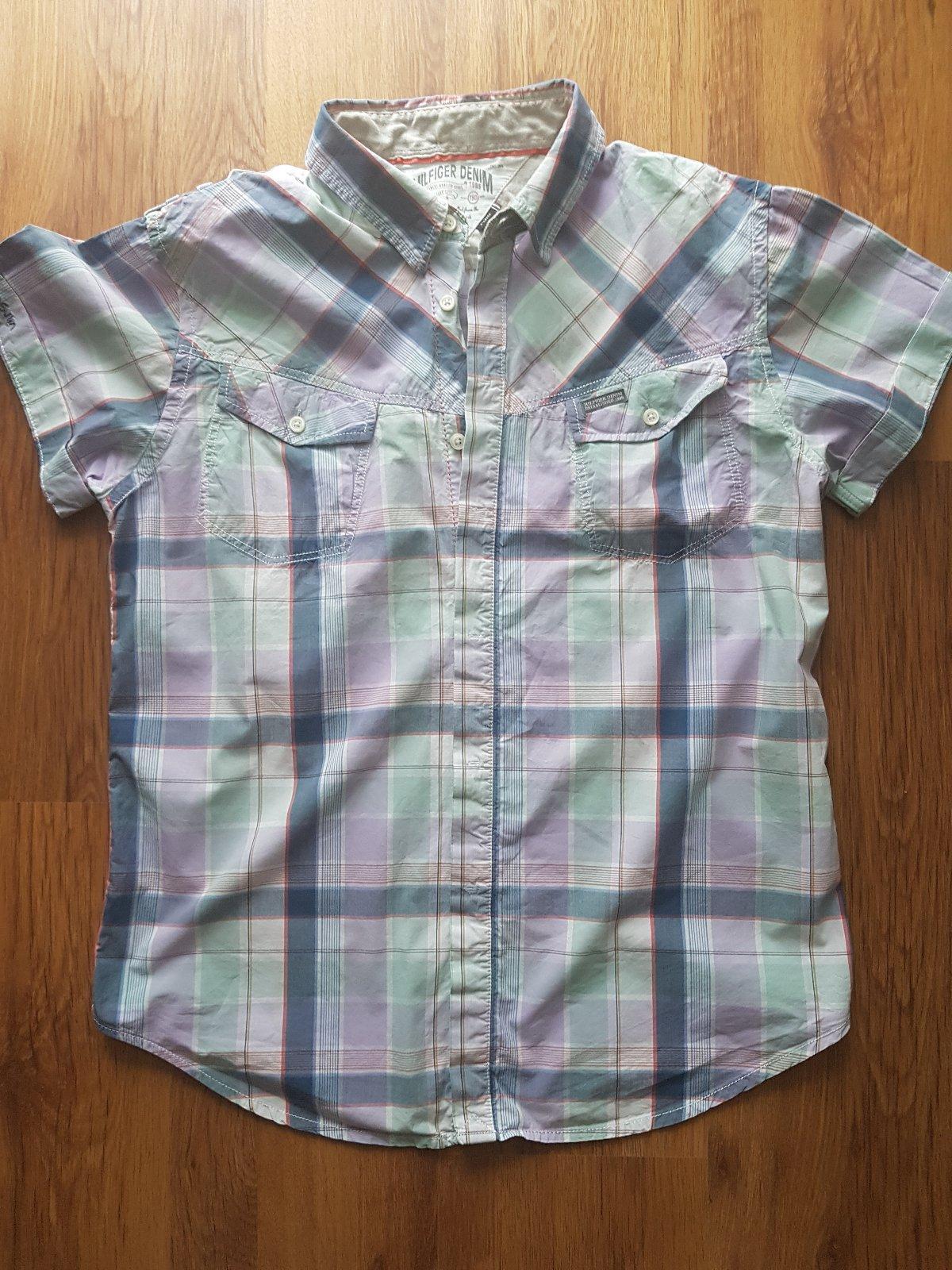 Th pánska károvaná košeľa 7b148807e6c