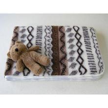 Detská deka merino ovčie runo vlnka,