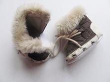 Zimné capačky topánky pre najmenších č.067, <17