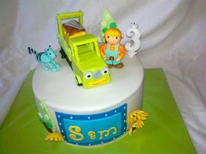 torta bob stavitel k narodeninam mojho syna