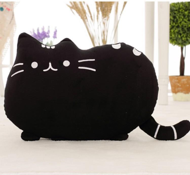 čierna mačička za peniaze