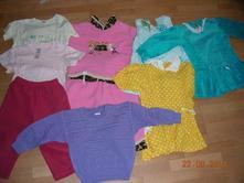 Balík dievčenského oblečenia 86-92,
