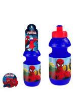 Plastová fľaša spiderman,