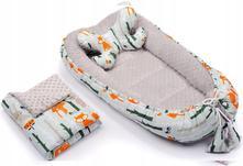 Hniezdo infantilo s vankúšikom a dekou, 55,80