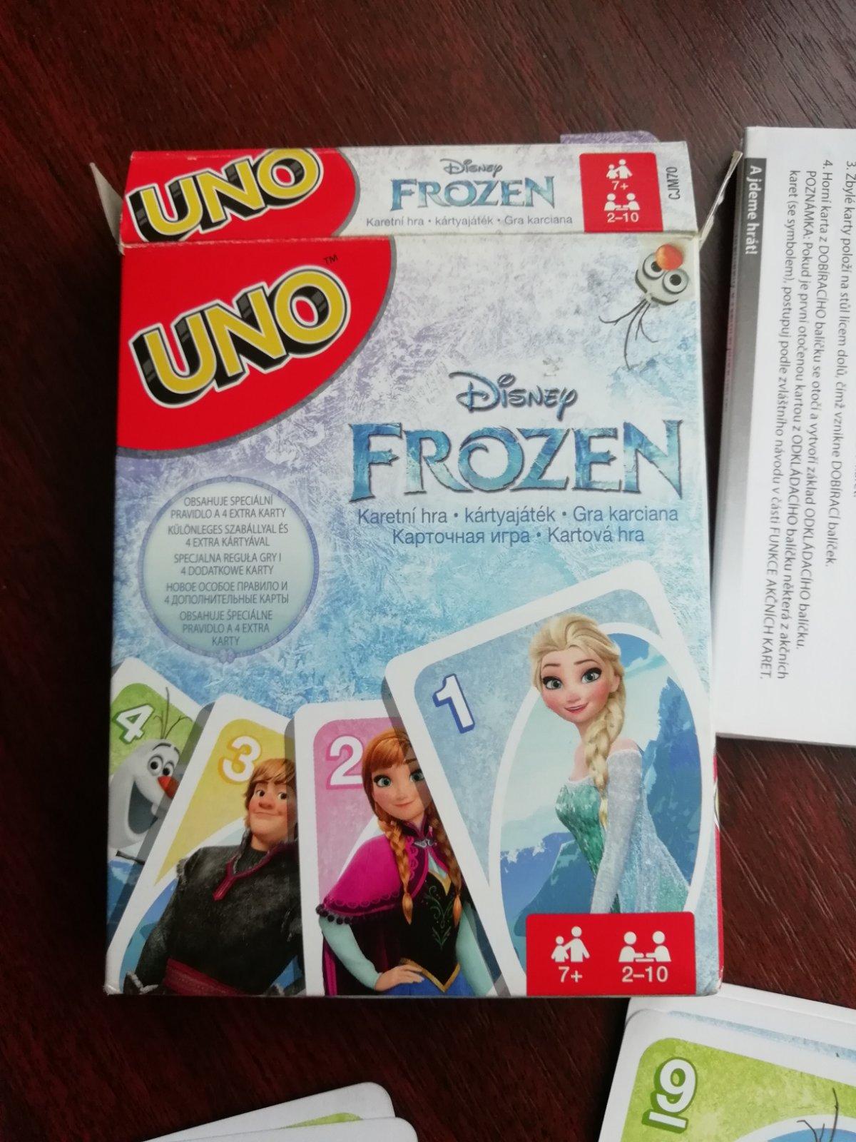 1d6c81098 Uno karty frozen, - 5 € od predávajúcej szuzana99   Detský bazár    ModryKonik.sk