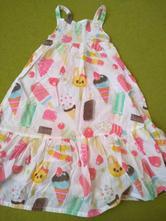 Šaty so zmrzlinou, h&m,122