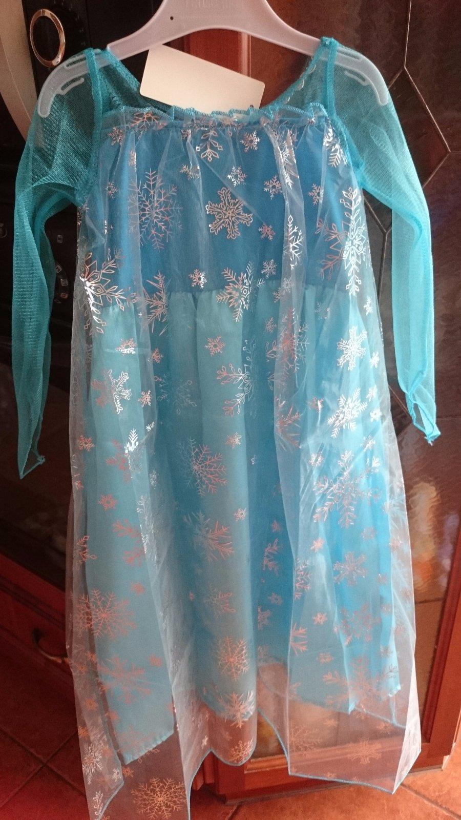 6a88e5580d78 Zobraz celé podmienky. Elsa frozen šaty 3 - 7 rokov