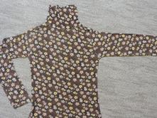 Dievčenský hnedý roláčik kenvelo pre 7-8 rokov, kenvelo,116