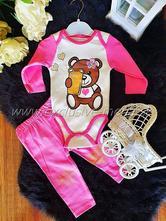 Súprava pink bear, 56 / 62 / 68 / 74