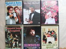6x dvd, české filmy, cena je za všetky.,
