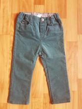 Menčestrové nohavice, h&m,92