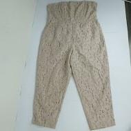 Spoločenský nohavicový čipkovaný overal, next,xl