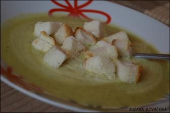 ...krémová brokolicová polievka ♥