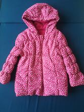 Teplá zimná bundička pre dievčatko veľ. 2-3 roky, f&f,98