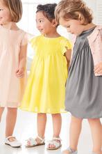 Plisované limetkové šaty next, next,104 / 110
