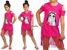 Leto/2019 šaty-tunika lol, 110 - 140