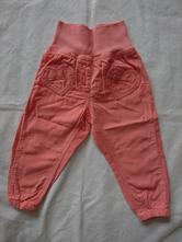 Tenké menčestrové nohavice, lupilu,86