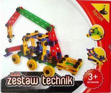 Stavebnica pre chlapcov - technik, 183 ks, 3+,