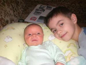 s mojim bracekom Markom
