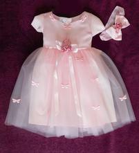 Detské šaty motýlik, 86