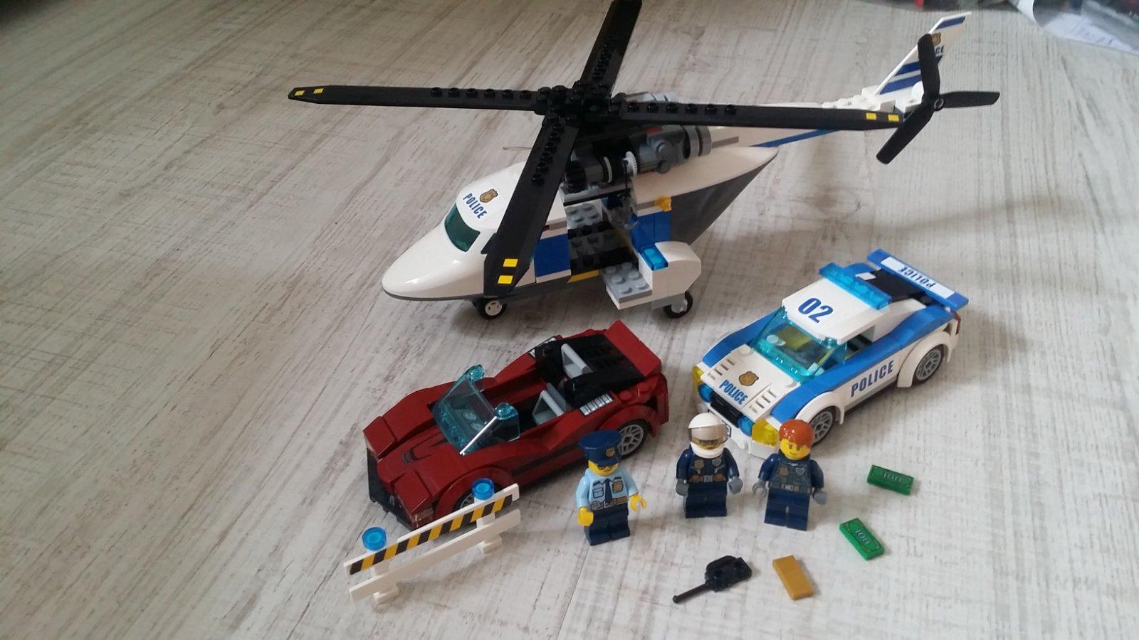 629822a05 Lego city 60138 nahanacka vo vysokej rychlosti, - 18 € od predávajúcej  zuzanazuzu | Detský bazár | ModryKonik.sk