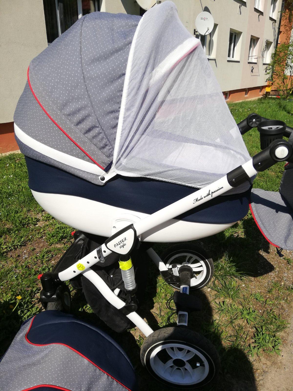 f119357a5 Kočík 3v1 babymerc faster style (zaruka do 7/2020), baby merc - 275 € od  predávajúcej vevuliatko   Detský bazár   ModryKonik.sk