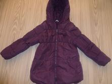 Zimná bunda fialová, 122