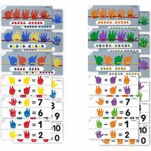 Prevliekačky a a počítanie ruky 36 ks, 3+,