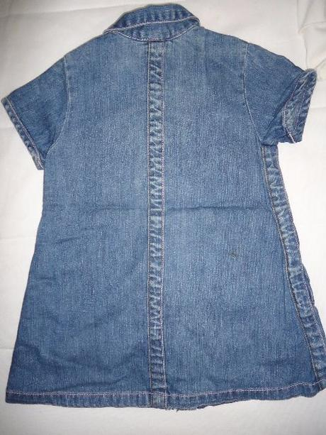 faff9f108624 Rifľové talianske šaty na zips vel. 2-3 r