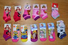 Detské rozprávkové ponožky minnie, 23 - 34