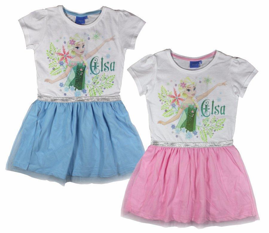 Dievčenské šaty elsa e446ea42743