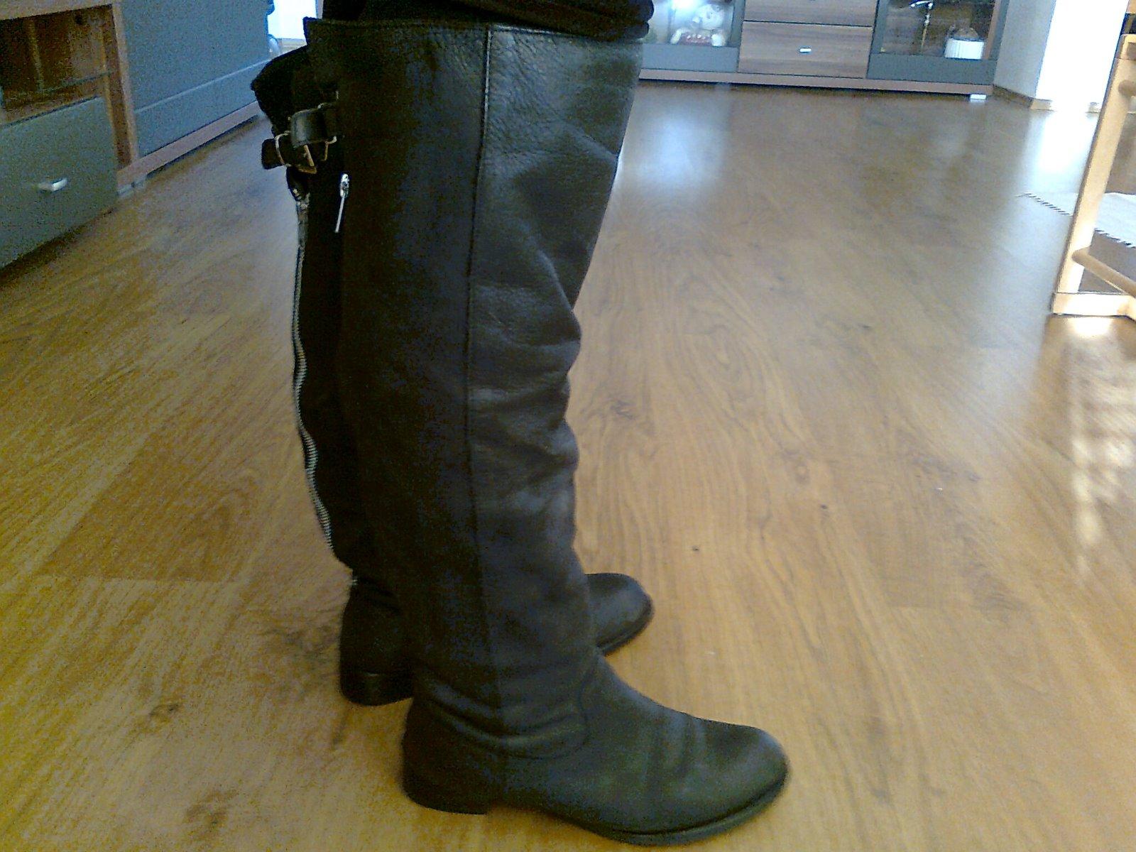 818d979d00ac2 Kožené prechodné čižmy aj na širšiu nohu, 38 - 11,50 € od predávajúcej  jarmila258 | Detský bazár | ModryKonik.sk