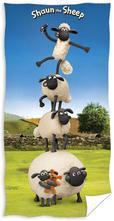 Osuška ovečka shaun 70/140 cm,