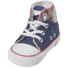 Playshoes capačky tenisky vysoké modré   , playshoes,<17 / 17 / 18 / 19 / 20