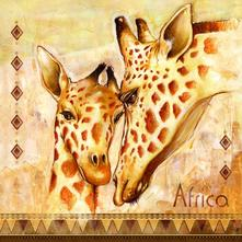 Servítka afrika žirafy,