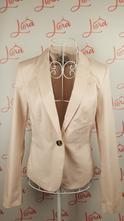 Dámske svetloružové sako, h&m,s