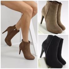 Elegantné členkové topánky so zipsom, 35 - 41