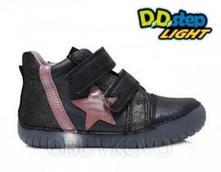 Svietiace dievčenské topánky d.d.step 050-7cm viol, d.d.step,25 / 27 / 29 / 30