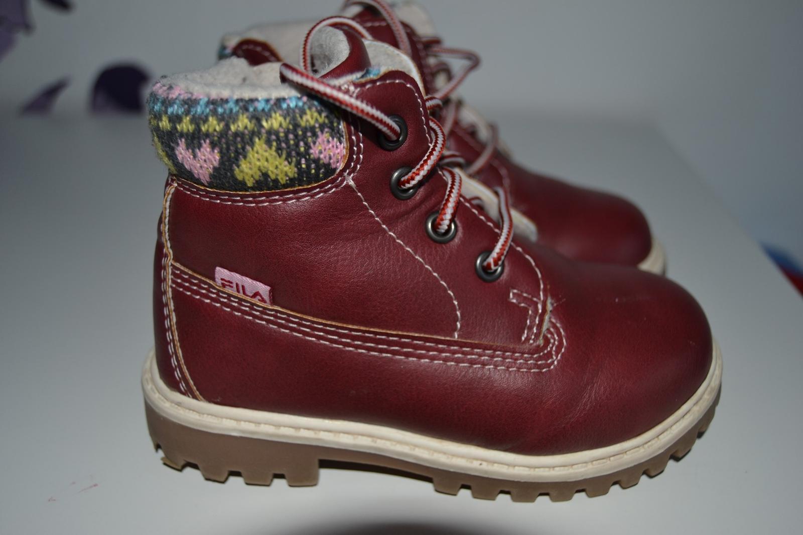 70ef634d9 Zimné topánky fila, fila,23 - 13 € od predávajúcej damianam | Detský bazár  | ModryKonik.sk