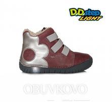 Svietiaca zimná obuv d.d.step 050-14am raspberry, d.d.step,25 - 30