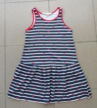 Dievčenské šaty h&m č.110/116, h&m,116