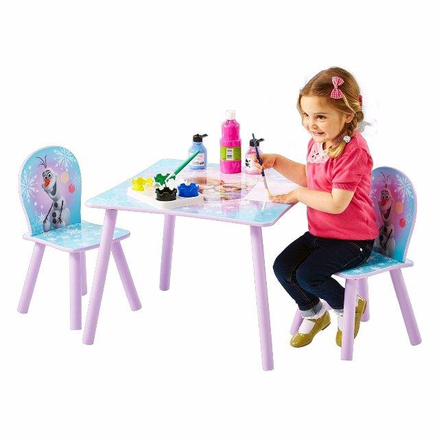 3671e0fce28e Frozen ľadové kráľovstvo stolík a stoličky