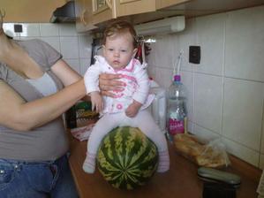 na koníka som ešte malá tak stačí melón :)