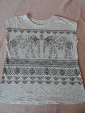 Tričko so slonami, c&a,134
