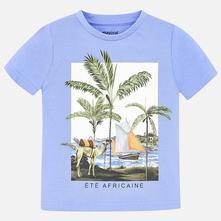 Mayoral chlapčenské tričko 3025-085 lavender, mayoral,92 - 128