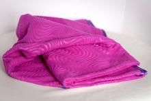 Sussy detská flísová deka vlnky,