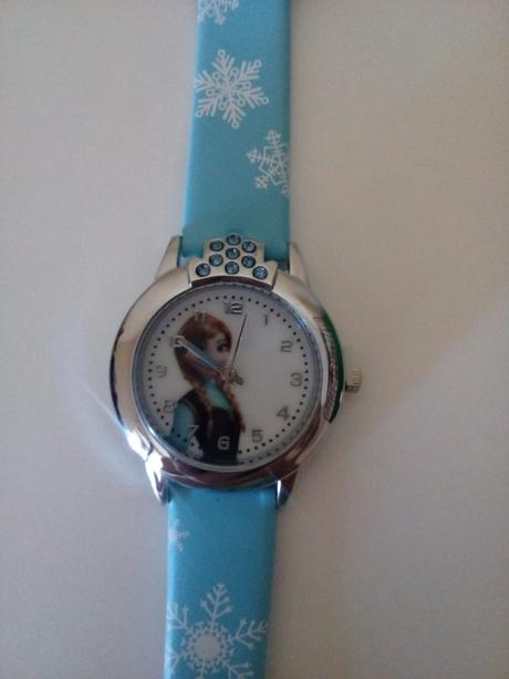 Detské náramkové hodinky frozen anna 3843c394070